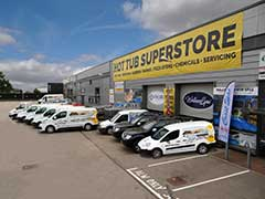Award Leisure Superstore Showroom