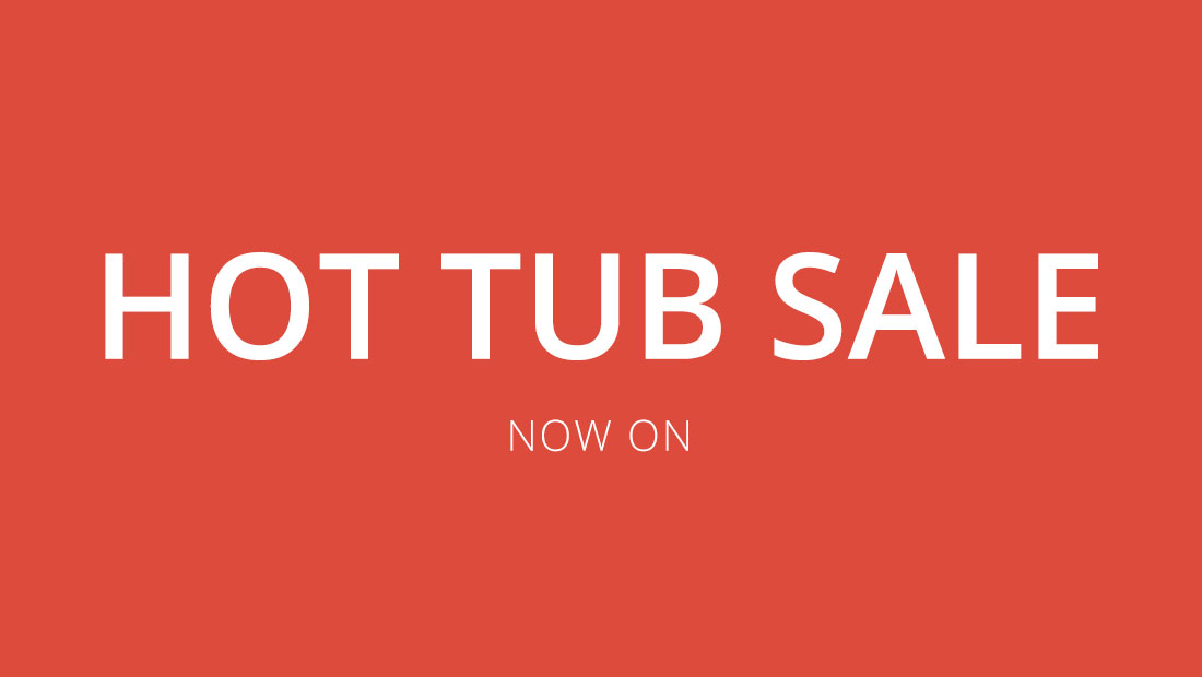 Hot Tub Sale - Display & Pre-Owned Hot Tubs Black Friday Deals