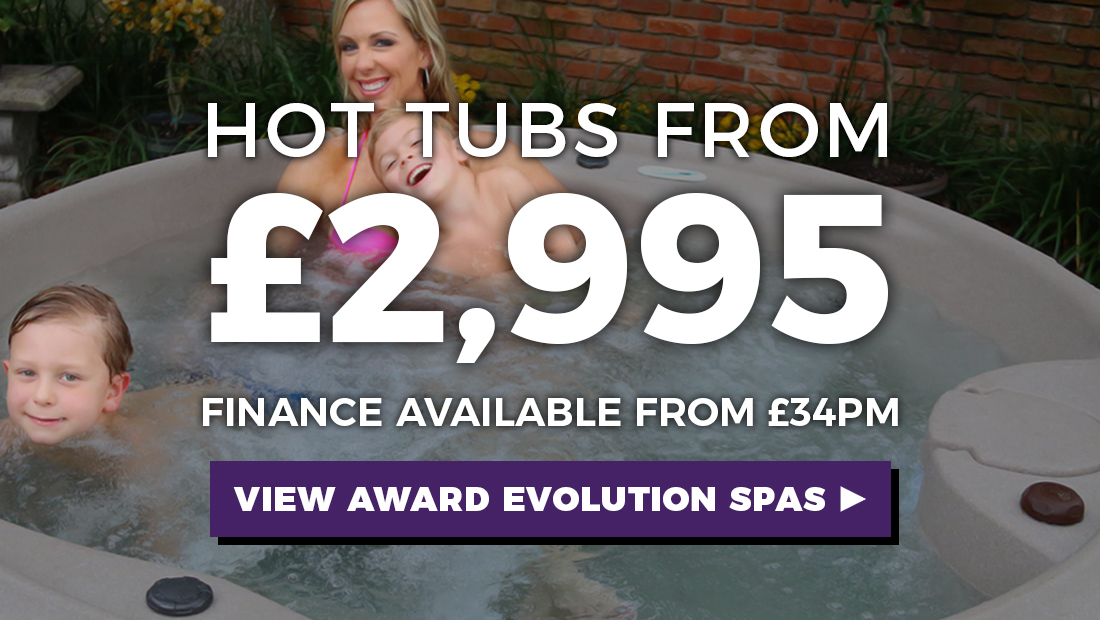 USA Made Hot Tubs from £2,995